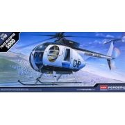 Hughes 500D Police Helicopter - 1/48 - Academy 12249