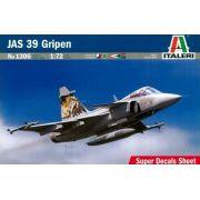 JAS 39 Gripen - 1/72 - Italeri 1306