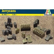 Jerry Cans - Galões de uso geral - WWII - 1/35 - Italeri 402