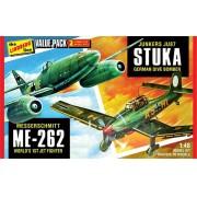 JU87 Stuka e ME-262 - 1/48 - Lindberg HL508