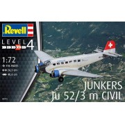 Junkers Ju52/3m Civil - 1/72 - Revell 04975
