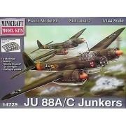 Junkers JU 88A/C - 1/144 - Minicraft 14729