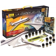 La Légende Set - Concorde e Caravelle 1/100 - Heller 52324