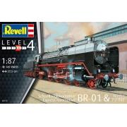 Locomotiva Express BR01 com Tender - 1/87 - Revell 02172