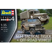 M34 Tactical Truck + Off-Road Vehicle - 1/35 - Revell 03260