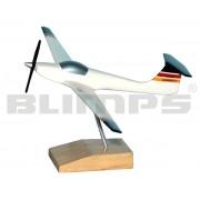 Maquete Aeromot AMT-100 Ximango - 20 cm