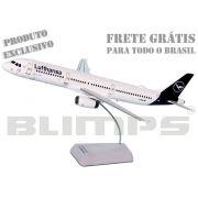 Maquete Airbus A321 Lufthansa nova pintura - 31 cm