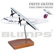 Maquete ATR 42-300 Total - 23 cm