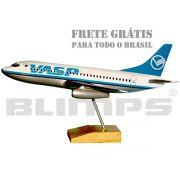 Maquete Boeing 737-200 VASP - 30 cm