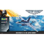 """Maverick's F/A-18E Super Hornet """"Top Gun"""" - 1/48 - Revell 03864"""
