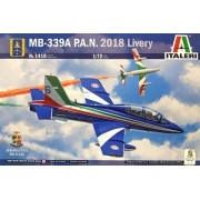 MB-339A P.A.N. 2018 Livery - 1/72 - Italeri 1418