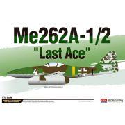 """Me262A-1/2 """"Last Ace"""" - 1/72 - Academy 12542"""