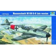 Messerschmitt Bf109 G-6 (Late version) - 1/24 - Trumpeter 02408