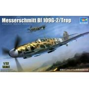 Messerschmitt Bf 109G-2/Trop - 1/32 - Trumpeter 02295