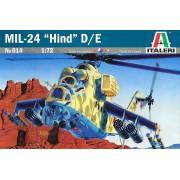 MIL-24 Hind D/E - 1/72 - Italeri 014