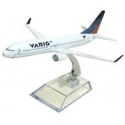 Miniatura Boeing 737-800 da Varig - 16 cm