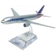 Miniatura Boeing 777 American - 16 cm