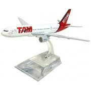 Miniatura Boeing 777 TAM - 16 cm