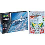 Mirage III E/RD/O - 1/32 - Revell 03919 com decalques FAB