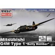 Mitsubishi G4M Type 1 Betty Bomber - 1/144 - Minicraft 14746