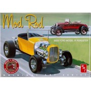 Mod Rod 1929 Ford Model A Roadster - 1/25 - AMT 1000