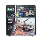 Model Set Bell UH-1H Gunship - 1/100 - Revell 64983