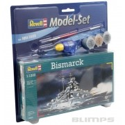 Model-Set Bismarck - 1/1200 - Revell 65802