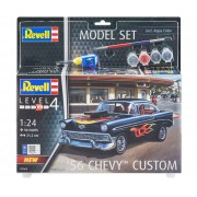 Model Set Chevy 1956 Custom - 1/24 - Revell 67663