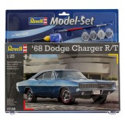 Model-Set Dodge Charger R/T 1968 - 1/25 - Revell 67188
