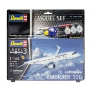 Model Set Embraer 190 Lufthansa - 1/144 - Revell 63937
