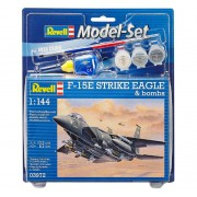 Model-Set F-15E Strike Eagle & bombs - 1/144 - Revell 63972