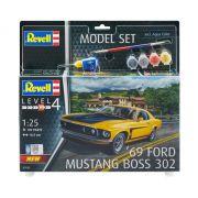 Model Set Ford Mustang Boss 302 1969 - 1/25 - Revell 67025