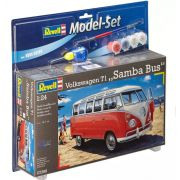 "Model-Set Kombi Volkswagen T1 ""Samba Bus"" - 1/24 - Revell 67399"