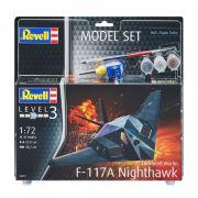 Model Set Lockheed Martin F-117A Nighthawk - 1/72 - Revell 63899