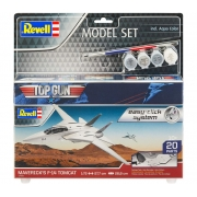 Model Set Maverick's F-14 Tomcat 'Top Gun' easy-click - 1-72 - Revell 64966