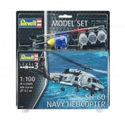 Model Set SH-60 Navy Helicopter - 1/100 - Revell 64955