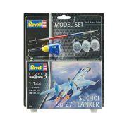 Model Set Suchoi Su-27 Flanker - 1/144 - Revell 63948