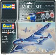 Model Set Vampire F Mk.3 - 1/72 - Revell 63934