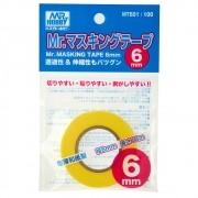 Mr.Masking Tape (máscara de pintura) 6 mm - Mr.Hobby MT601