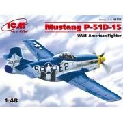 Mustang P-51D-15 -  1/48 - ICM 48151