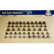 Obstáculos antitanque - 1/72 - Italeri 6147