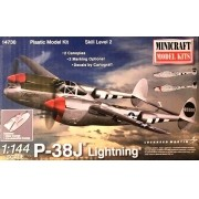 P-38J Lightning - 1/144 - Minicraft 14730