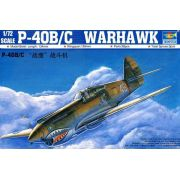 P-40B/C Warhawk - 1/72 - Trumpeter 01632