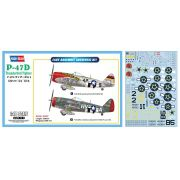 P-47D - 1/48 - Hobbyboss 85804 com decalques FAB
