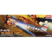 """P-47D """"Bubble Top"""" - 1/72 - Academy 12491"""
