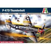 P-47D Thunderbolt com decalque da FAB - 1/48 - Italeri 2728