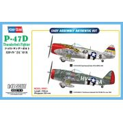 P-47D Thunderbolt Fighter - 1/48 - Hobbyboss 85804