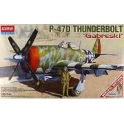 """P-47D Thunderbolt """"Gabreski"""" - 1/48 - Academy 12222"""