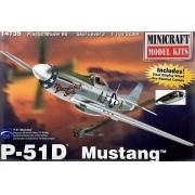 P-51D Mustang - 1/144 - Minicraft 14739