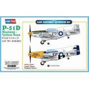 P-51D Mustang - Yellow Nose - 1/48 - HobbyBoss 85808